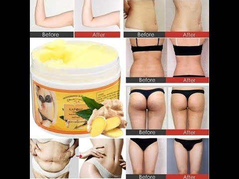 Ginger Fat Burning or Weight Loss Cream