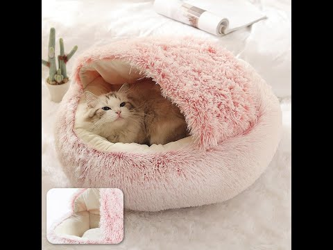 Top Quality Styled Warm and Comfy Pet Cat and Small Dog Bed