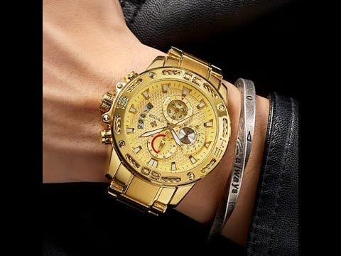 Men's Top Luxury Waterproof Stainless Steel Watch