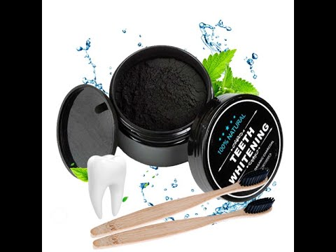 Effective Teeth Whitening Natural Activated Charcoal Powder