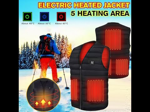 High Quality Smart Unisex Winter Infrared and Electric heating Vest
