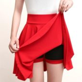 Red mini short