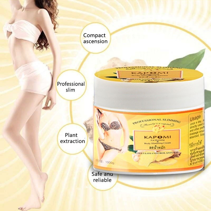 Ginger Fat Burning Cream Anti-cellulite Fat-Lossing Cream Body Weight Loss Slimming Massage Legs Legs Effectively Reduce Cream